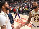 Anthony Davis y LeBron James