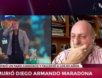 """Horacio Pagani, entre lágrimas: """"Se murió el fútbol"""""""