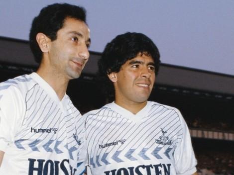The day Maradona played for Tottenham