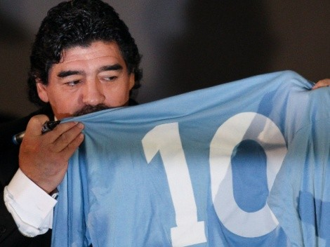 Napoli want to rename San Paolo stadium after Diego Maradona