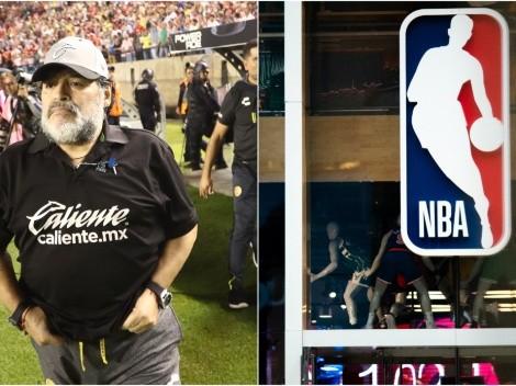 Remembering when Diego Maradona revealed his favorite NBA team