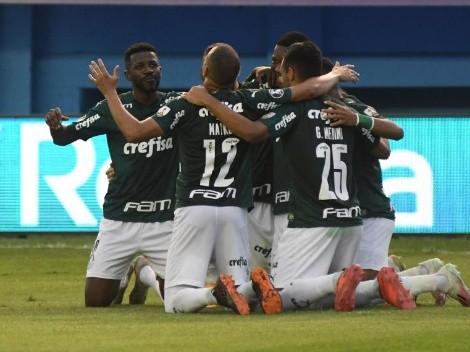 Delfín no tuvo oportunidad contra Palmeiras: un 1-3 difícil de revertir