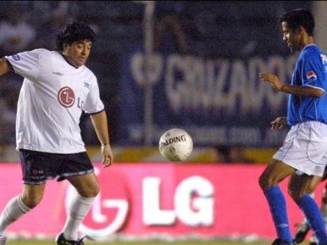 El día que Maradona llegó 45' minutos tarde a la despedida de Hermosillo