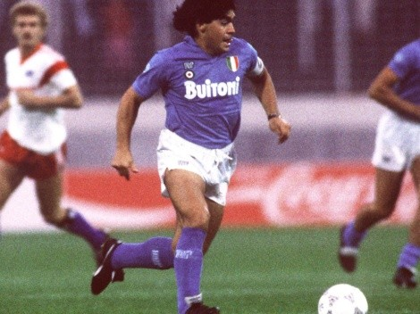 Every goal Diego Maradona scored for Napoli