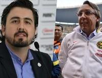 Amaury Vergara y Emilio Azcárraga realizaron una apuesta para el Clásico Nacional