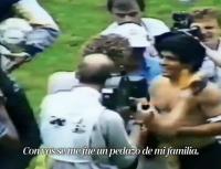 Nudo en la garganta: el video que la Selección Argentina subió para despedir a Maradona