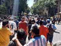 La foto de la que habla todo Twitter: el reflejo del sol eligió la 10 de Maradona