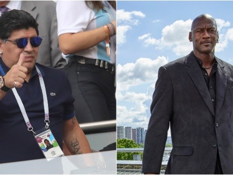 Diego Maradona once proposed Michael Jordan as POTUS