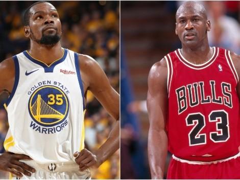 Kevin Durant explains why Michael Jordan is the greatest scorer ever