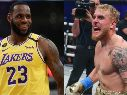 LeBron James y Jake Paul