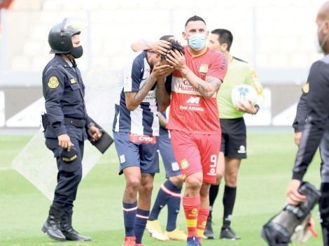Alianza Lima presentó reclamo por el partido contra Sport Huancayo