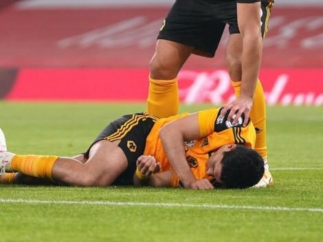 Personajes destacados alientan a Raúl Jiménez tras la lesión