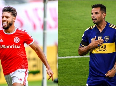 Internacional and Boca face each other tonight at Beira Rio Stadium