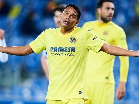 Malas noticias: Villarreal confirmó el grado de la lesión de Carlos Bacca