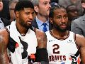 Paul George y Kawhi Leonard, Los Angeles Clippers