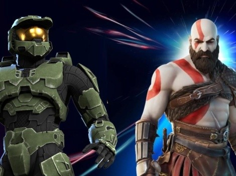 Se filtran las skins de Kratos y Master Chief de HALO para Fortnite