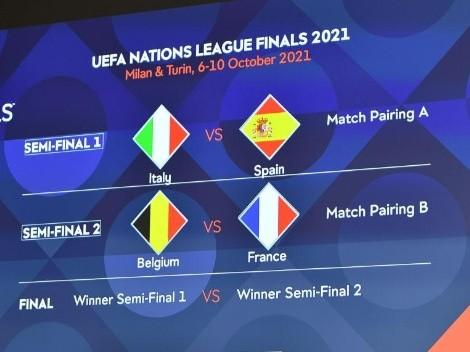 Qué partidazos: se sorteó el Final Four de la UEFA Nations League