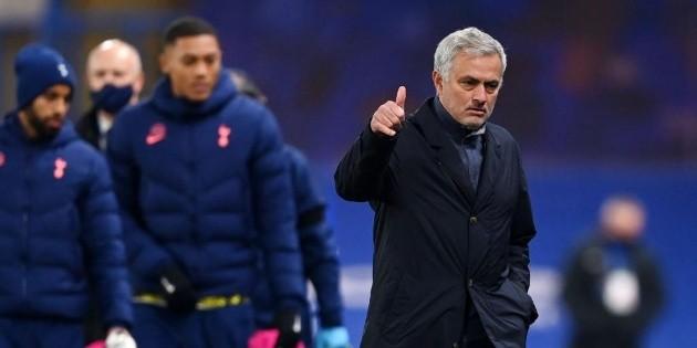 José Mourinho en Instagram tras empatar con Tottenham por la Europa League | Bolavip