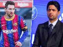 Al presidente del PSG le preguntaron por la posible llegada de Messi
