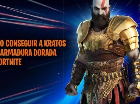 Como conseguir la skin de Kratos con Armadura Dorada en Fortnite