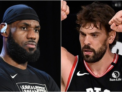 Marc Gasol fires back at LeBron James' comments
