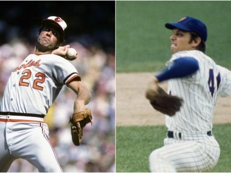 Los mejores pitchers en la década de los 70's