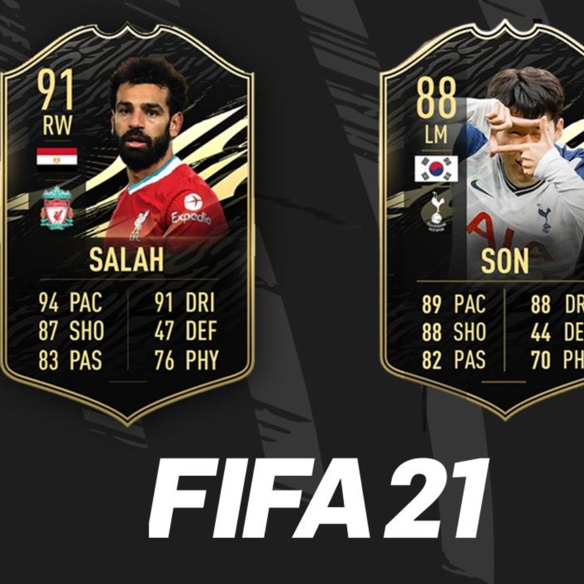 FIFA 21   El TOTW 11 trae los primeros IF para Heung Min Son y Salah