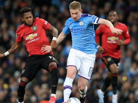 The time has arrived: United face City today in the grand Manchester Derby