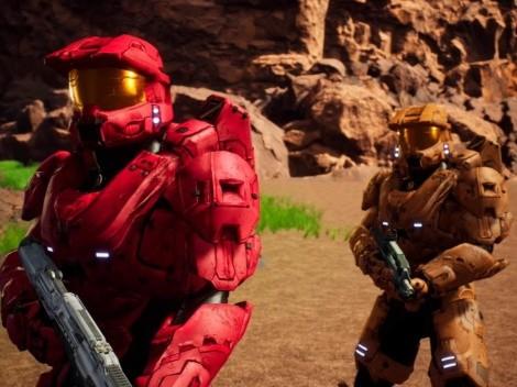 Fortnite: Como jugar Captura la Bandera en el mapa Blood Gulch de HALO
