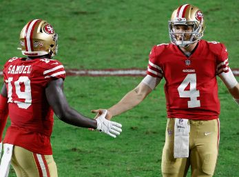 San Francisco 49ers vs. Washington Football Team juegan por la semana 14 de la NFL este domingo (Getty Images)