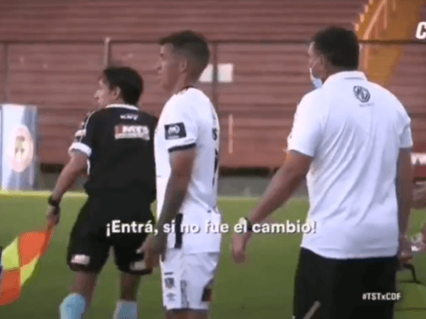 """""""Más huev..."""": la particular escena de Gabriel Costa con su DT en Chile"""