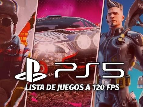 PS5 | ¿Qué juegos soportan 120 FPS en PlayStation 5?