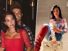 """Georgina subió foto en bikini y Cristiano se volvió loco en los comentarios: """"Mamamia"""""""