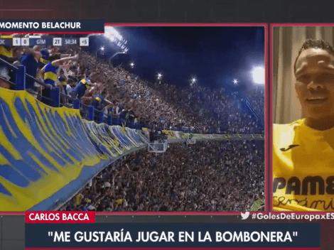 """Bacca, mundialista con Colombia: """"Me gustaría jugar en La Bombonera"""""""