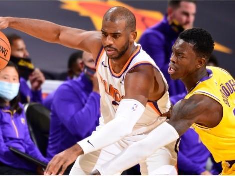 Suns and Lakers meet again ahead of the 2020/21 NBA season