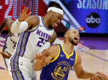 Golden State Warriors vs. Sacramento Kings (Foto: Getty Images)