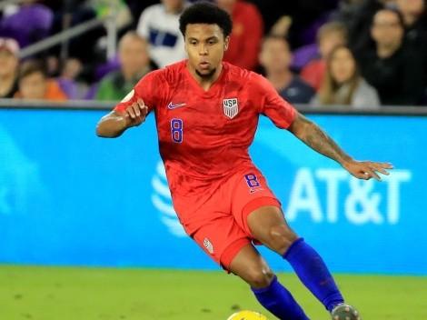 Weston McKennie wins U.S. Soccer Men's Player of the Year