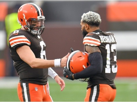 Baker Mayfield vows the Browns will beat the Giants for Odell Beckham Jr