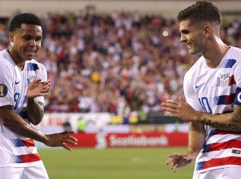 Weston McKennie y Christian Pulisic