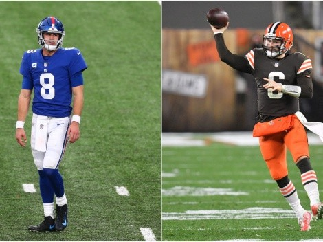 Browns visit Giants for Sunday Night Football