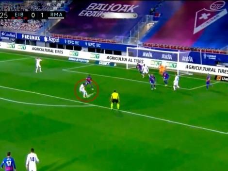 La armó Benzema y la coronó Modrić: así fue el 2 a 0 del Real Madrid contra Eibar