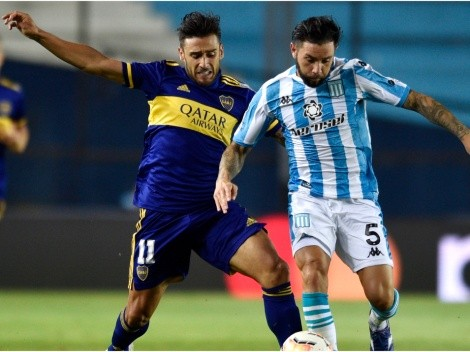 Boca and Racing clash tonight at La Bombonera