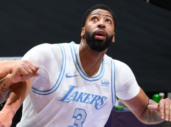 Anthony Davis, estrella de Los Angeles Lakers