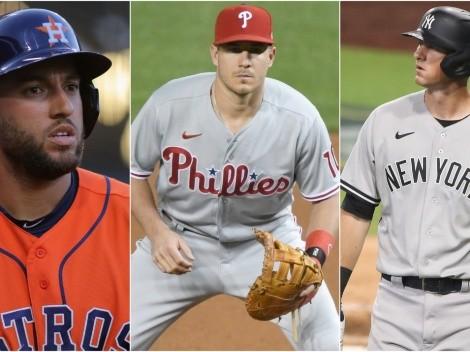 Los tres mejores agentes libres todavía disponibles en MLB para 2021