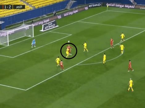 Video: el equipo del Pity Martínez sufrió uno de los goles en contra más ridículos del 2020