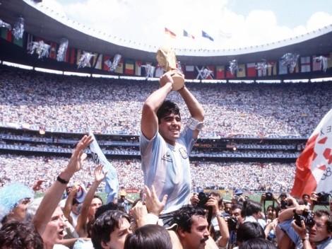 El Estadio Azteca cambia de nombre: se llamará Diego Armando Maradona
