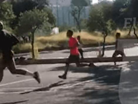 VIDEO: Árbitros realizan pruebas a escondidas y rompen semáforo rojo