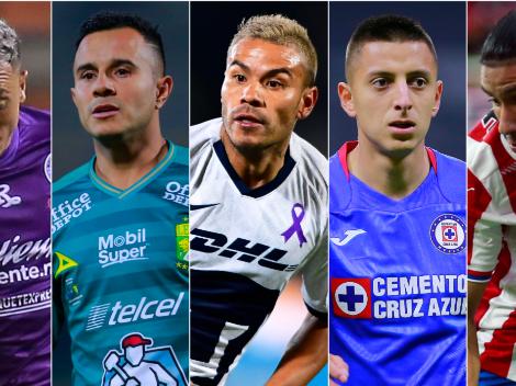 Jugadores con más asistencias en la Liga MX durante el 2020