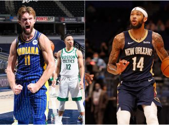 Domantas Sabonis y Brandon Ingram (Foto: Getty)