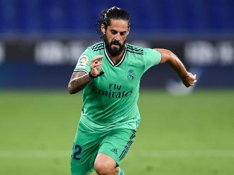 Isco es baja de última hora para el último partido del año del Real Madrid